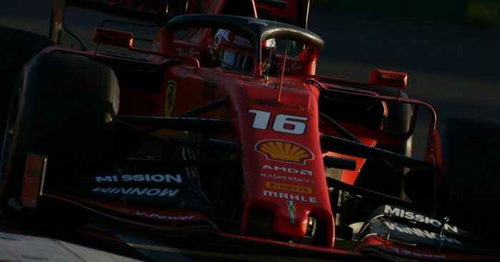 Charles Leclerc: Quickest for Ferrari in FP3