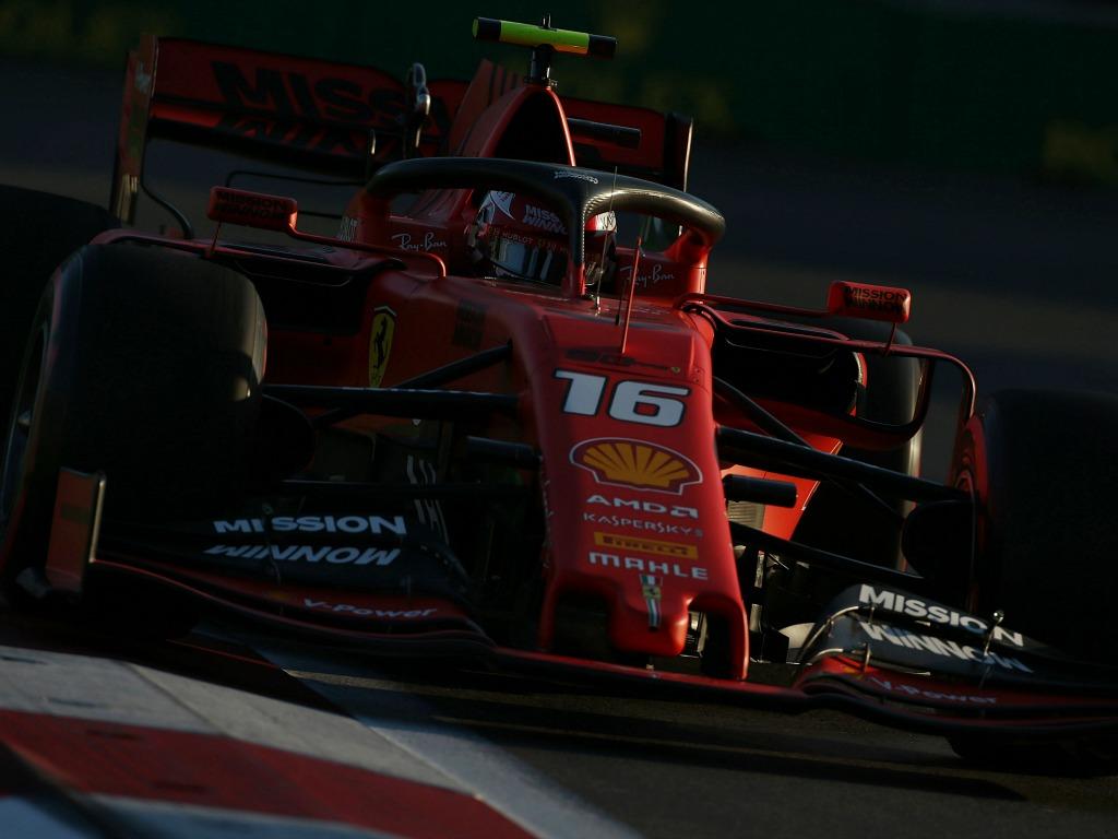 Charles Leclerc: Quickest for Ferrari in FP3