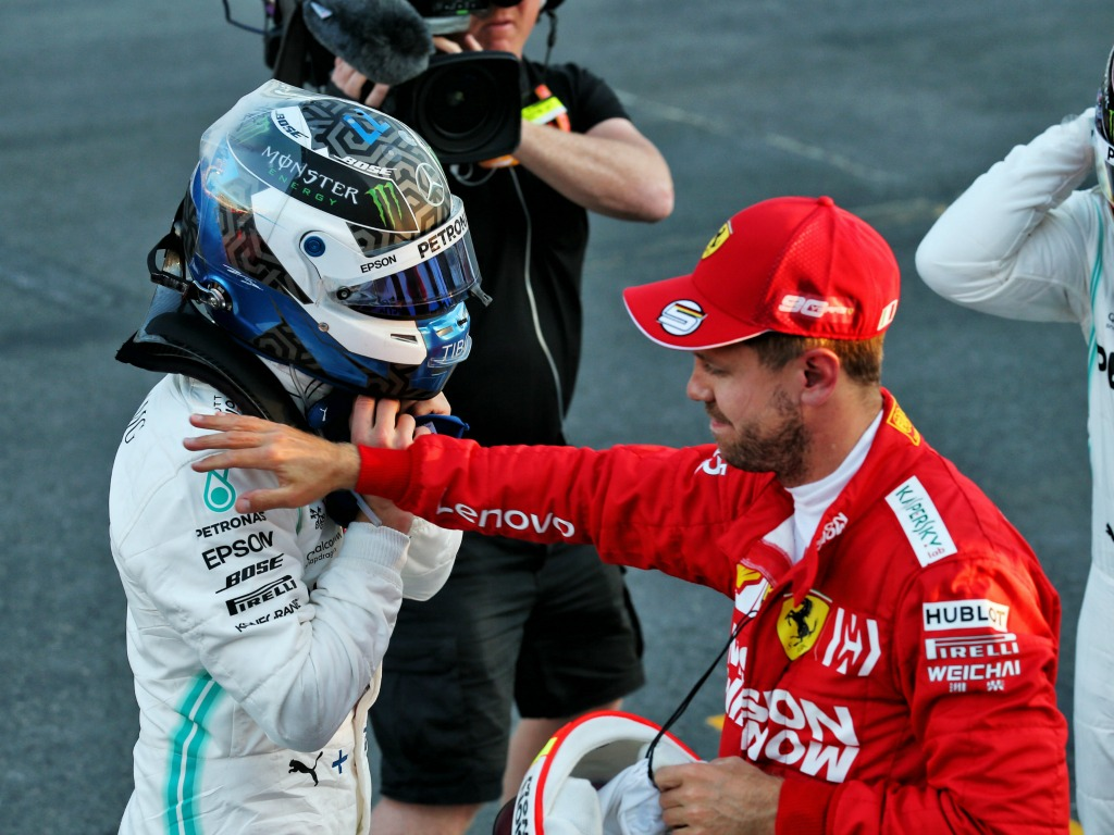 Sebastian Vettel: Mercedes didn't steal pole in Baku