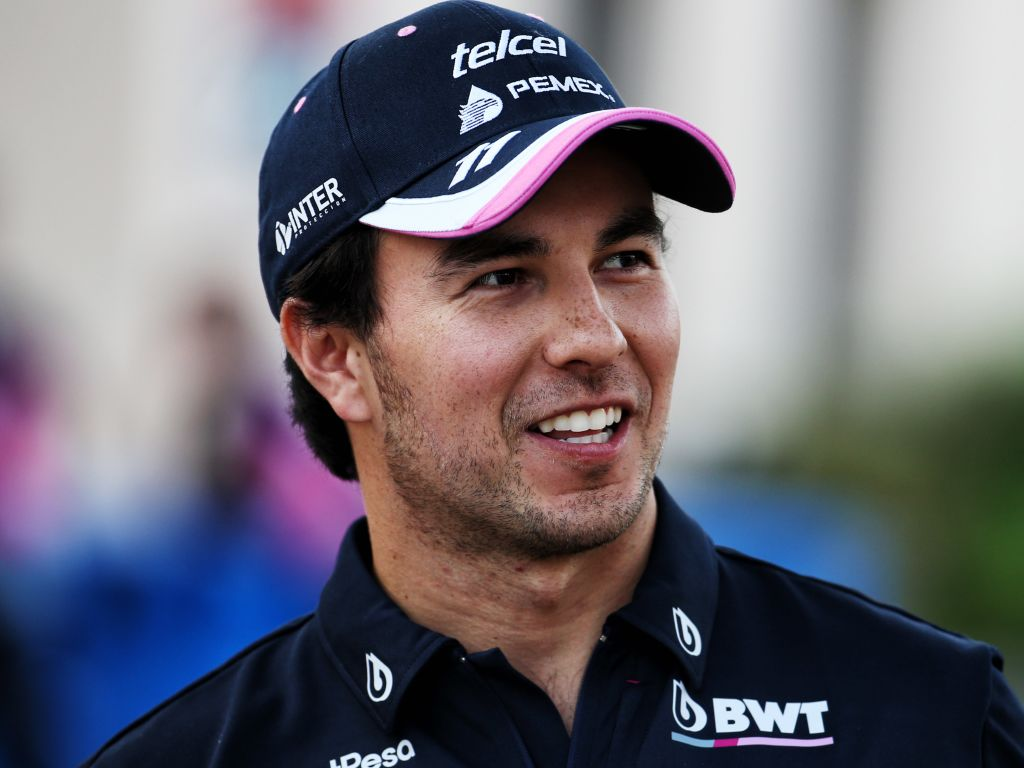 Sergio Perez was delighted with a perfect qualifying that put him in P5 on the grid for the Azerbaijan Grand Prix.