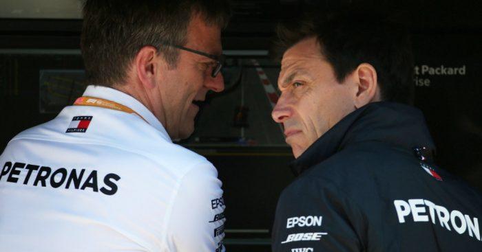 Toto Wolff: Denies using Mercedes team orders