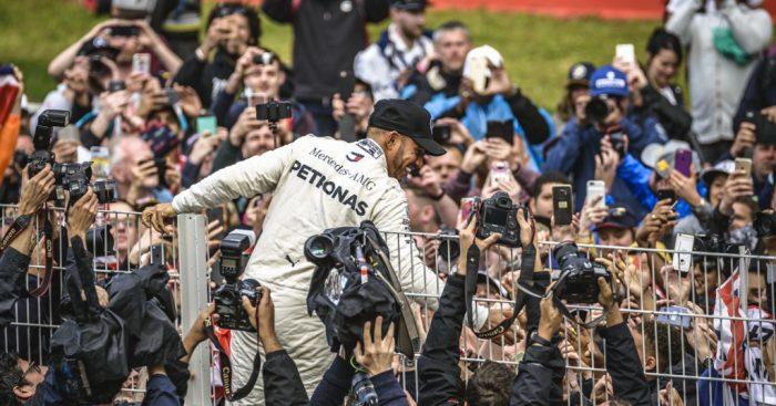 Lewis Hamilton Spain 2018 PA
