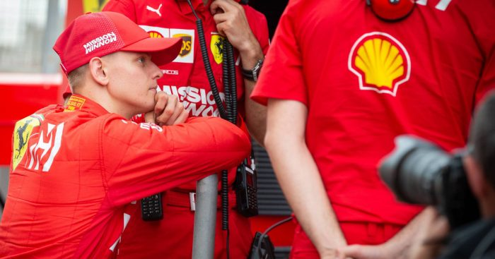 JV warns Ferrari 'will burn' Mick Schumacher
