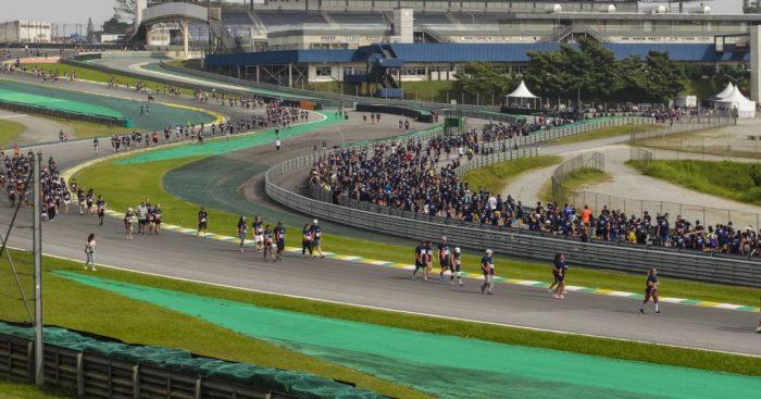 Brazilian president meets F1 CEO Chase Carey over talks of switching Brazilian Grand Prix to Rio de Janeiro.