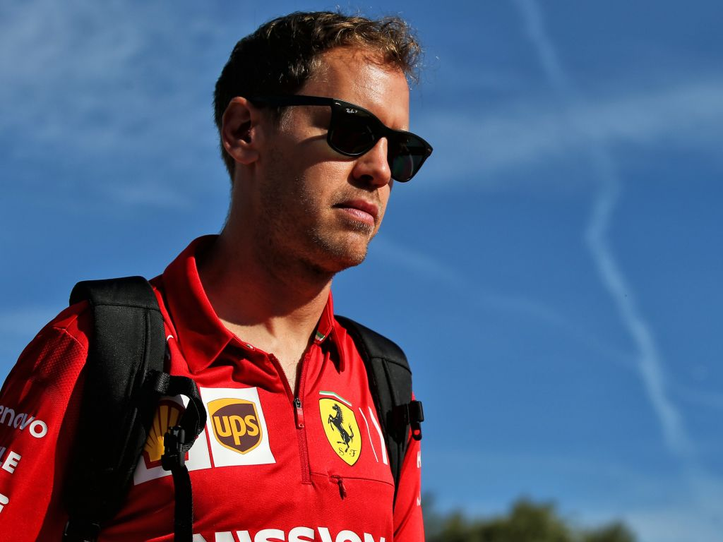 Sebastian Vettel says he didn't even know that Charles Leclerc was on a different strategy during their duels at the Spanish Grand Prix.