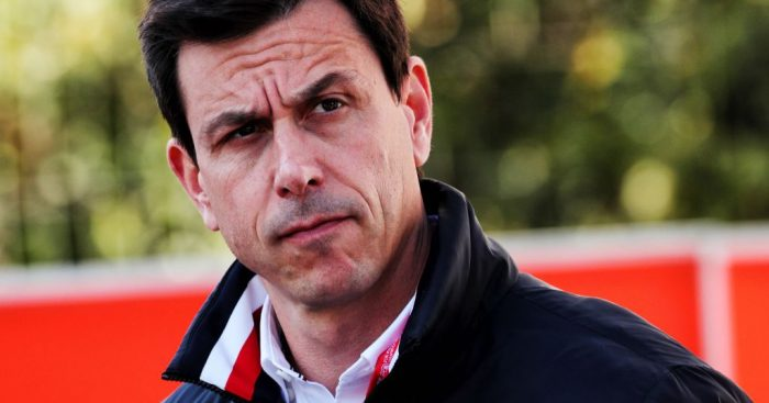 Toto Wolff in deep thought
