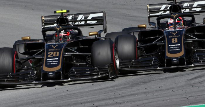 Haas asked the FIA to black flag Kevin Magnussen and Romain Grosjean during FP1 in Monaco.