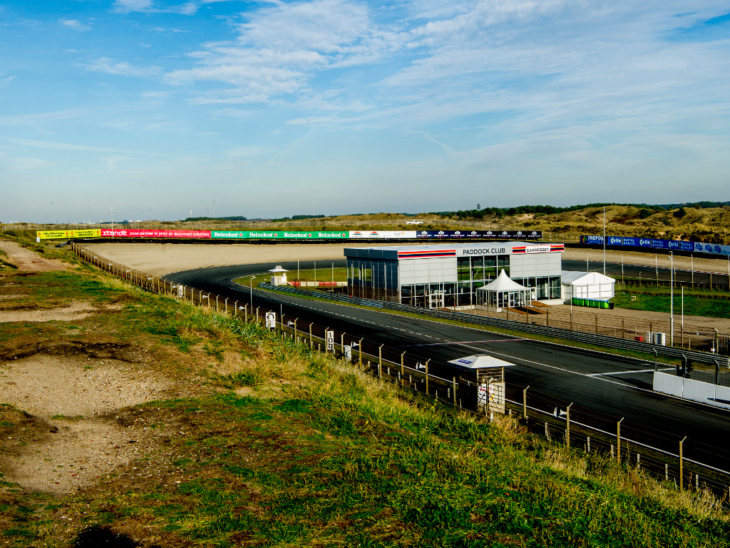 Zandvoort to be given American oval style last turn.