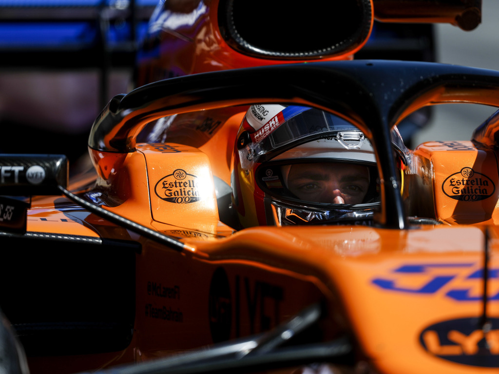 Carlos Sainz is happy with Renault's engine progress but still sees Ferrari as the benchmark.