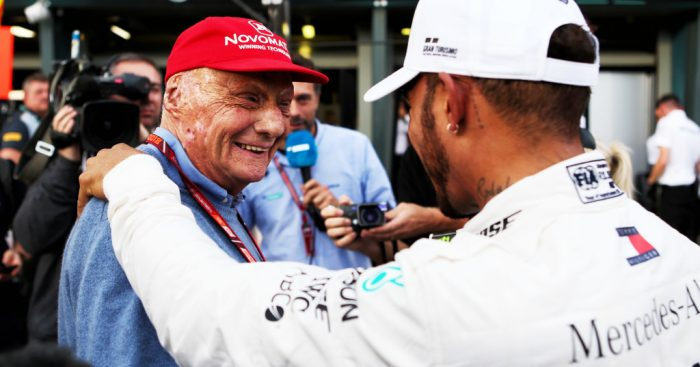 Niki Lauda honoured with Personality of the Year ward.