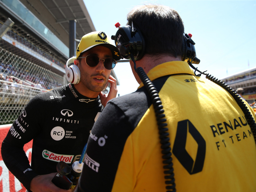 "Daniel Ricciardo is confident Renault will get results soon, and ""you can write that down""."
