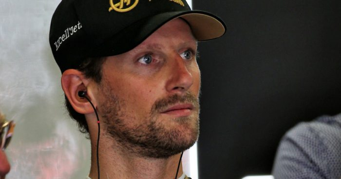 Romain-Grosjean-serious