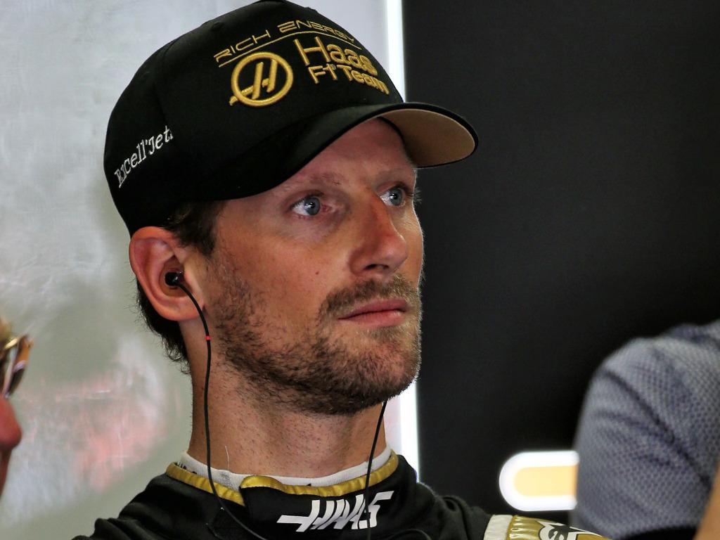 Romain-Grosjean-serious