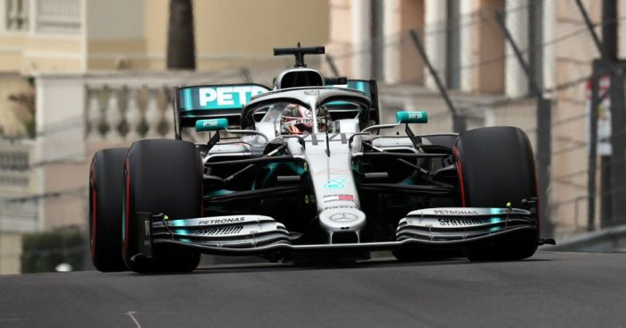 """Lewis Hamilton described t as a """"dream"""" day for Mercedes after he topped FP1 and 2 in Monaco with Valtteri Bottas just behind."""