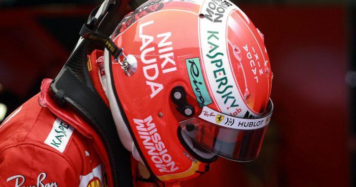 Sebastian Vettel: Niki Lauda tribute