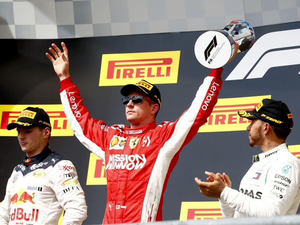 Kimi Raikkonen 2018 United States Grand Prix.