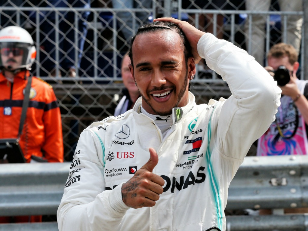 Lewis Hamilton: On pole in Monaco