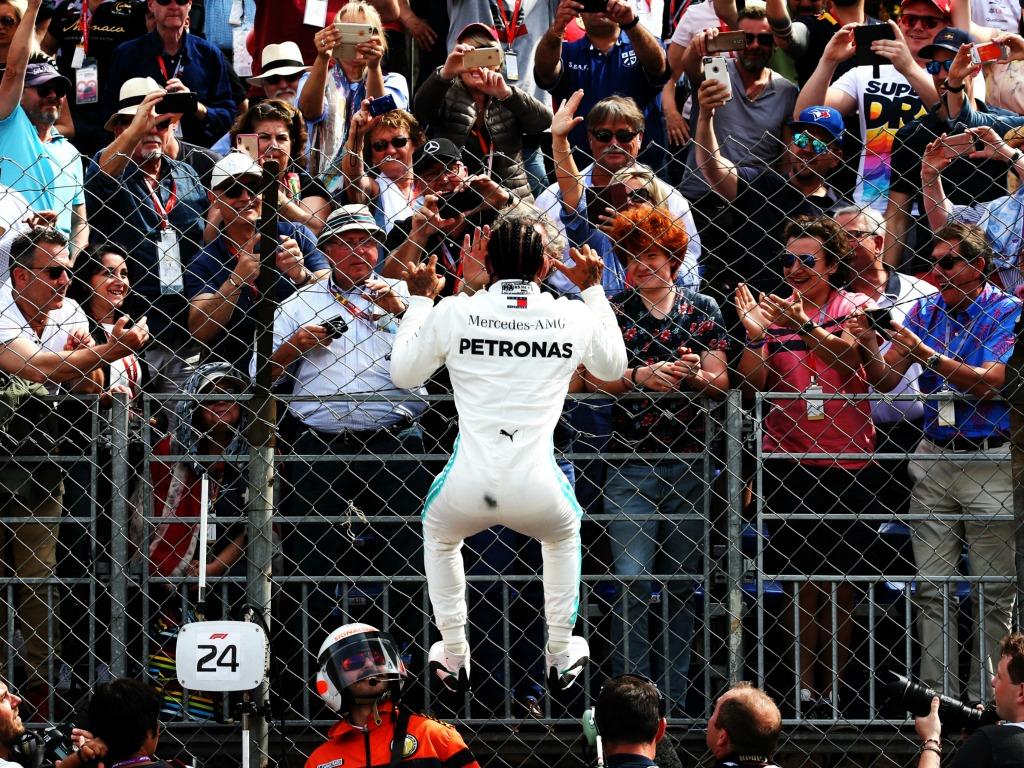 Lewis Hamilton: On pole in Monaco