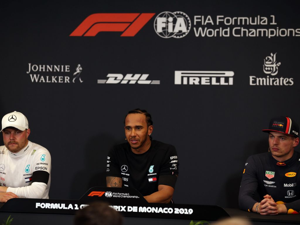 Monaco post-qualifying press conference.