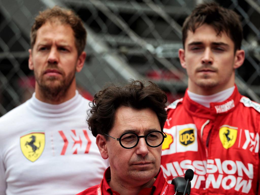 Sebastian Vettel believes his battle with Charles Leclerc has a positive impact on Ferrari.