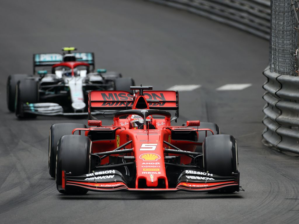 """Sebastian Vettel believes Ferrari need to get in touch with the """"grip guy"""" to improve the SF90."""