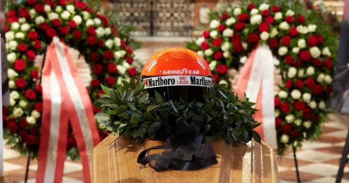Niki Lauda: Final respects paid