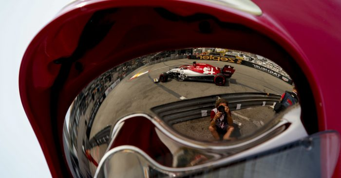 Kimi-Raikkonen-Alfa-Romeo-reflection-PA
