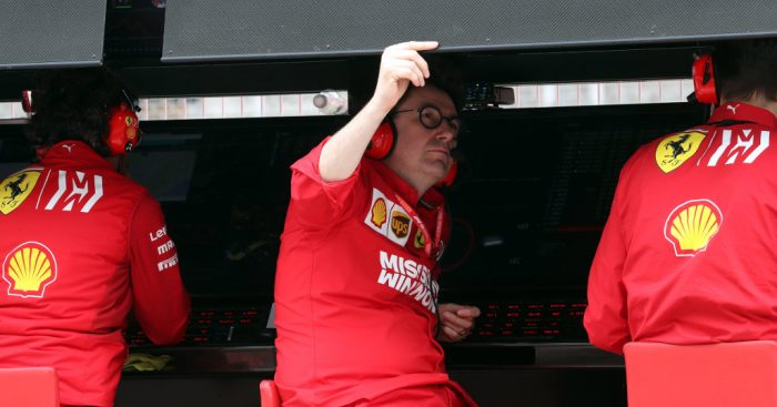 Ferrari need multiple upgrades to catch Mercedes warns Mattia Binotto.