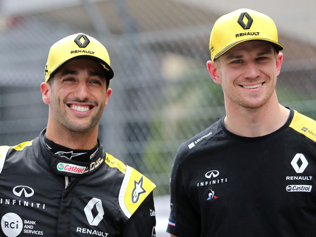 Daniel Ricciardo was surprised to learn of Nico Hulkenberg's Renault exit.