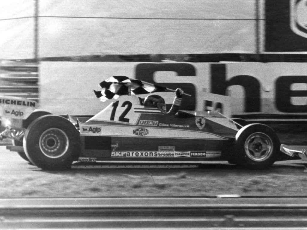 Gilles Villeneuve Canada 1978.