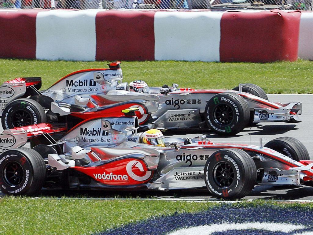 Lewis Hamilton 2007 Canadian Grand Prix.