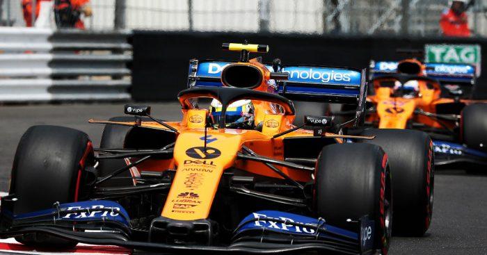 Carlos Sainz Lando Norris McLaren