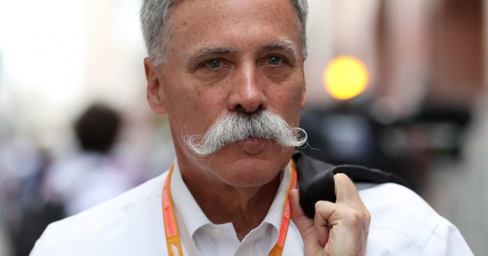 Chase Carey wants the 2020 calendar to remain at 21 races.