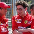 Mattia Binotto has given the technical structure at Scuderia Ferrari a facelift.