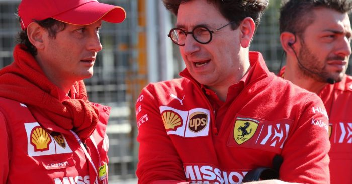 Mattia Binotto has given the technical structure at Scuderia Ferrari a facelift.