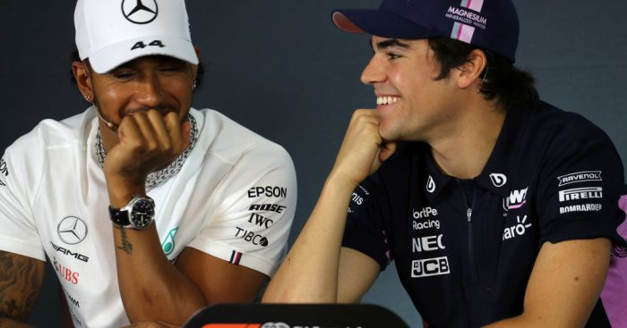 Lewis-Hamilton-and-Lance-Stroll-PA