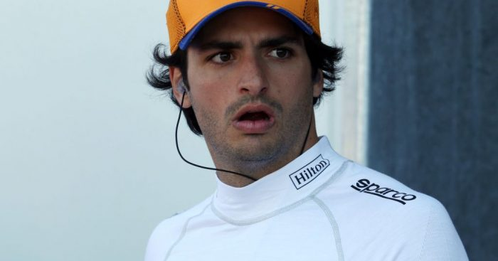 """""""Back to reality"""" tomorrow says Carlos Sainz after P4 in FP2 at the Canadian GP."""