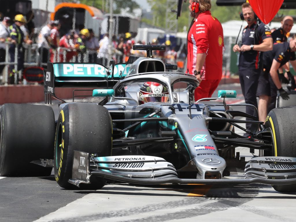 """Lewis Hamilton says his brush with the wall in FP2 at the Canadian GP was just an """"innocent mistake""""."""