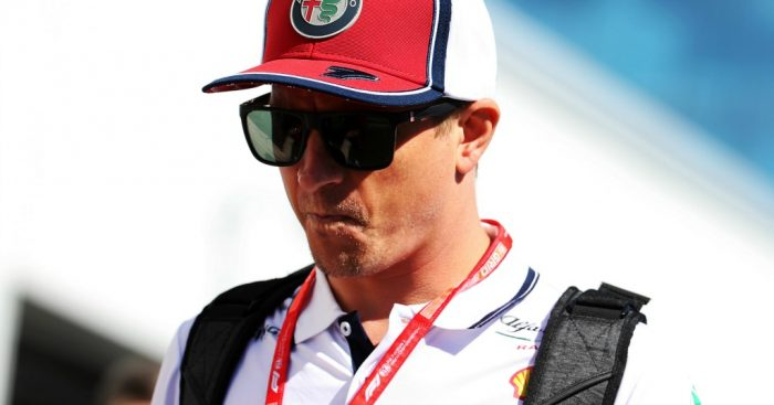 "Kimi Raikkonen says the Alfa Romeo C38 has felt ""very strange"" in some corners."