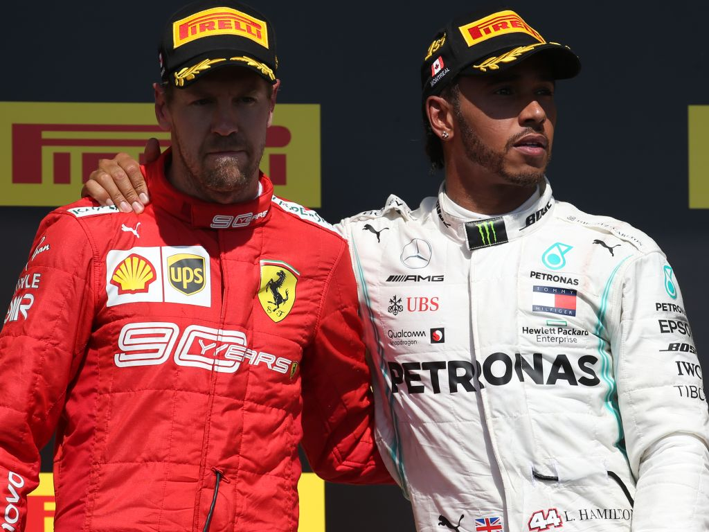 """Lewis Hamilton insists he """"forced"""" Sebastian Vettel into the error which cost him the Canadian Grand Prix."""