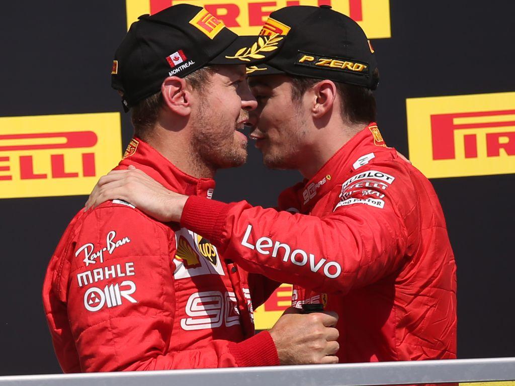 Charles Leclerc is handling the pressure at Ferrari better than Sebastian Vettel claims Frederic Vasseur.