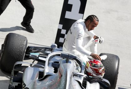 """Lewis Hamilton has been in a """"sweet spot"""" since 2018."""