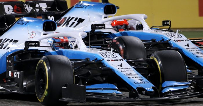 """Robert Kubica believes he and Williams partner George Russell are driving in """"two different worlds"""" at times."""