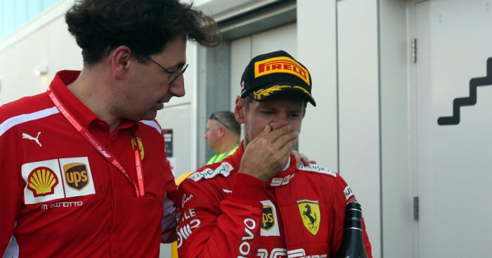 Sebastian-Vettel-and-Mattia-Binotto-PA