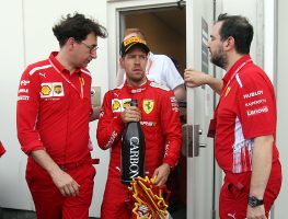 Sebastian Vettel's penalty has been rejected.