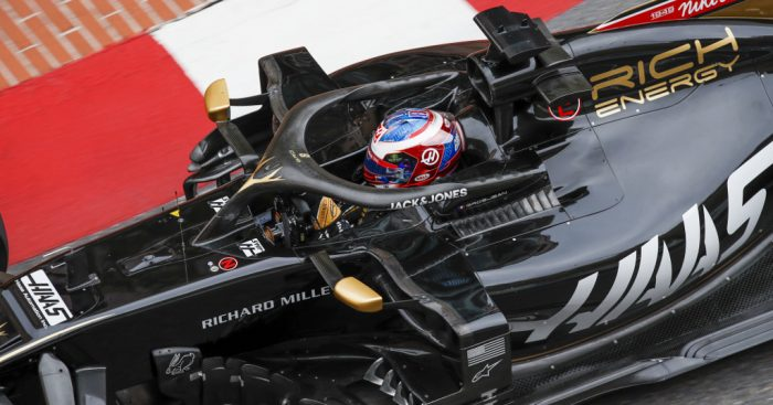 Romain-Grosjean-Haas-VF19-PA
