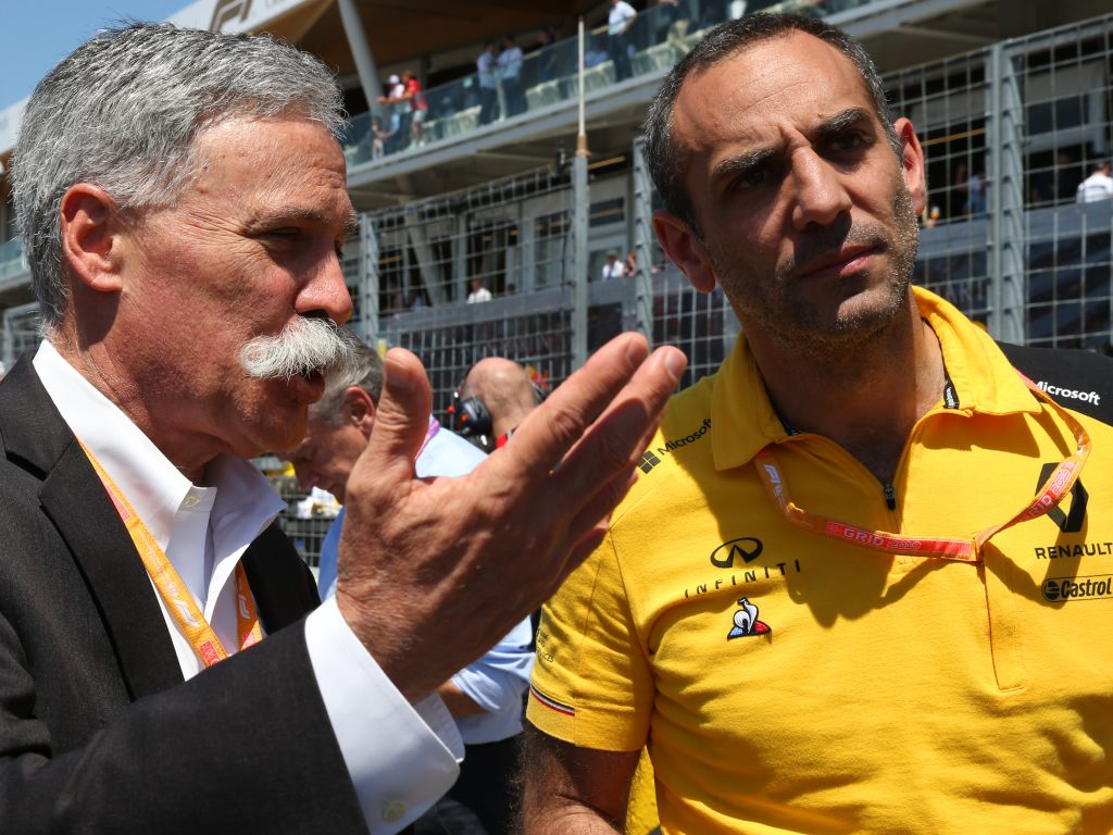 "Cyril Abiteboul believes some people at the FIA are ""losing the plot""."