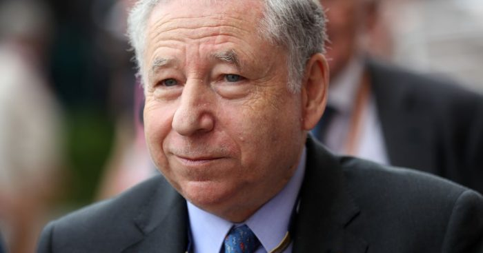 """Jean Todt """"not worried at all"""" by 2021 delays."""