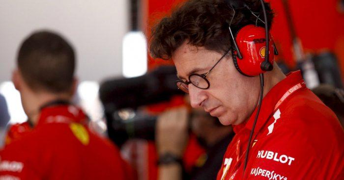 Ferrari boss Mattia Binotto