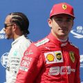 Charles-Leclerc-with-Lewis-Hamilton-background-PA